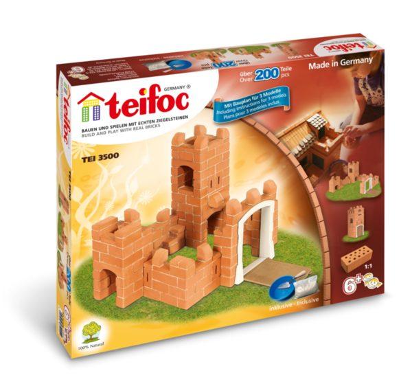 Конструктор с тухлички - Малък замък